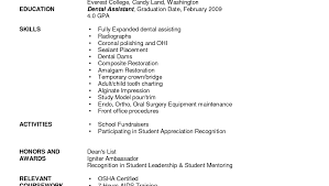 Writing Good Resumes Resume Template