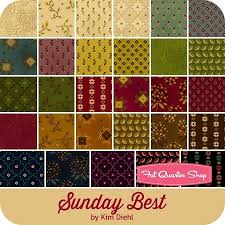 195 best Fabulous Fabrics images on Pinterest | Quilting fabric ... & Sunday Best by Kim Diehl for Henry Glass Fabrics - December 2015 Adamdwight.com