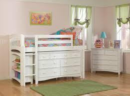 image of teen loft bed with dresser bunk beds kids dresser