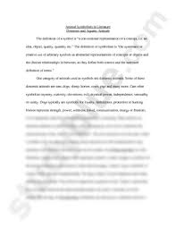 what is a symbol in literature essays meaning literature symbol of  animal symbolism in literature doc english van gerven animal symbolism in literature doc english 3060 van