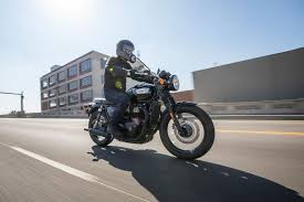 2017 triumph bonneville t100 first ride motorcycle review cycle