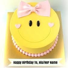 Emoji Birthday Cake Art And Cute Smiley Birthday Wishes Cake