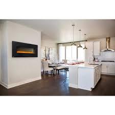 napoleon nefl50b hd 50 wall mount electric fireplace black