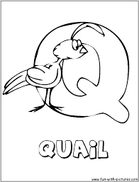 Upper and lowercase handwriting can be practiced, too. Animal Alphabets Q Coloring Page