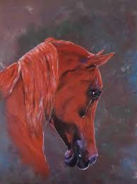 samsung backgrounds art beauty colorful painting beautiful oil horse