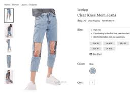 Home I Women Jeans Cropped Gods Pen Is Topshop Clear Knee