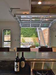 glass garage doors kitchen. Elegant Glass Garage Doors Kitchen With At Ph 1 From Place Houses A Paneled N