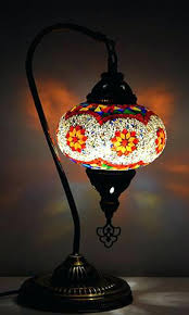turkish stained glass lamps table lamp bedroom turkey turkish stained glass