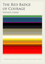 what your favorite book looks like in colors arts culture jaz parkinson created this image for smithsonian by tallying the number of times stephen crane s classic civil war saga the red badge of courage mentions or