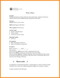 13 Formal Business Letter Example College Resume