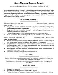 Manager Resume Sample Enchanting Sales Manager Resume Sample Writing Tips Resume Companion