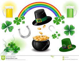 St Patrick S Day Designs St Patricks Day Design Elements Stock Vector Illustration