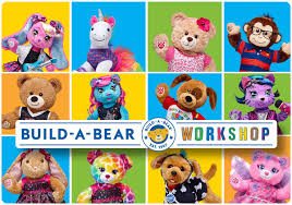 Build A Bear Workshop E Gift Card