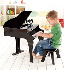 Hape Wooden Happy Gr& Piano Music