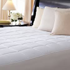 sunbeam premium quilted heated mattress pad twin