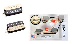 have you done the jimmy page wiring les paul jim page kit
