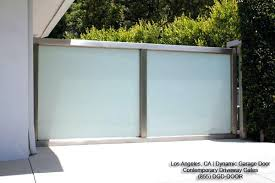Clopay Avante Collection Aluminum Garage Door With Frosted Glass