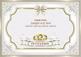 Carte Dinvitation De Mariage Image Vectorielle Seriga 101948832