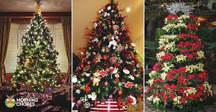Creative christmas tree toppers ideas try Decorated Christmas Morningchores 30 Gorgeous Christmas Tree Decorating Ideas You Should Try This Year