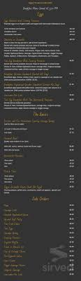 menu for garden grill breakfast page 1 of 4