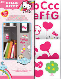 kitty room decor. HELLO KITTY Wall Stickers Over 125 Decal Roomscapes Room Decor Letter Cat Kitten Kitty