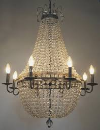 edison vintage crystal chandelier town country event als made in