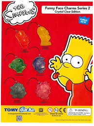 Simpsons Vending Machine Unique Buy The Simpsons Funny Face Charms Crystal Clear Edition Vending