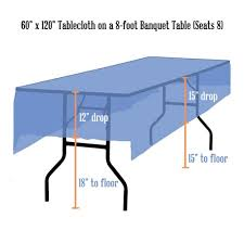 tablecloth sizing charts beyond