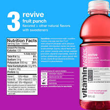 Vitamin Water Nutrition Chart Vitaminwater Variety Pack 20 Fl Oz 12 Pack Amazon In