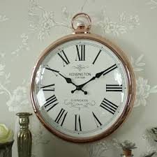 large round copper wall clock melody maison large round wall clock large round wall clock