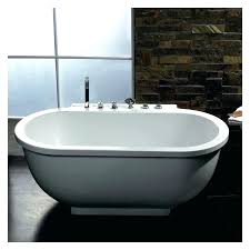 platinum oval freestanding acrylic whirlpool bathtub in freestanding whirlpool tub design freestanding jetted tub reviews