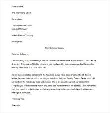 complaint letter model complaint letter examples samples formal letter complaint sample