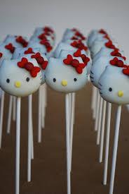 Hello Kitty Cake Pops Sweetworldofcakes