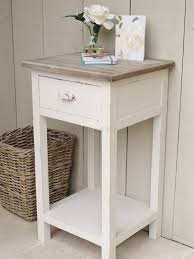 full size of bed nice distressed side table 19 cute white with drawer 28 marble top