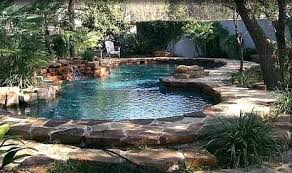 natural looking in ground pools. Natural In Ground Swimming Pools Small Backyard Pool Ideas Organic Calfinder Remodeling Blog Looking C
