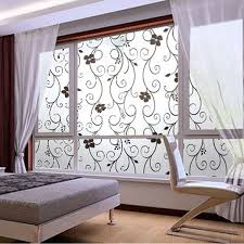 romantic decor home office. New Frosted Privacy Cover Glass Window Door Black Flower Sticker Film Adhesive Home Office Decor Romantic C