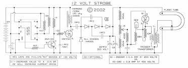 12v Strobe Light Circuit Subhams Electronics Circuits World Project