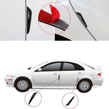 4x <b>Car Door</b> Edge Scratch Anti-collision Protector Guard Strip Trim ...