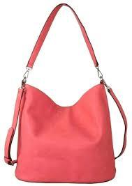 red cuckoo bag las pink slouchy shoulder bag handbag faux leather hobo tote per 4405 p jpg