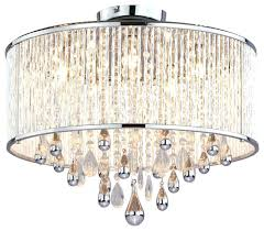 brushed nickel drum chandelier lighting ideas brushed nickel drum shade 3 light semi flush mount intended