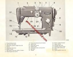 Pfaff Sewing Machine Manual Free Download