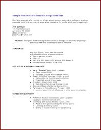 Endearing Resume Templates For Recent College Graduates Also