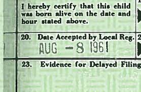 Obama Date Of Birth