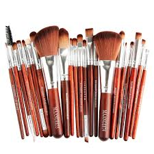 cinderella 22pcs set professional spectrum makeup brushes with soft synthetic hair
