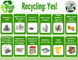 Recycling Sanitation Dept