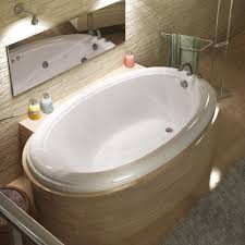 Atlantis 4478PC Atlantis Drop-in Soaking Bathtub