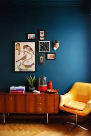 Painted Wall Designs Crock Pot Apple Crumble Cobbler Recipe Dark Blue Blue Walls