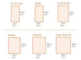 Standard Double Bed Mattress Size Uk bed mattress sizes size of