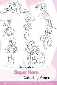 These coloring pages are a ton of fun and can then you ought to consider superhero coloring pages. Free Printable Kid Super Hero Coloring Pages Superhero Printables Free Super Hero Coloring Sheets Superhero Kids