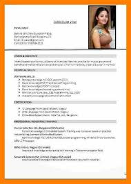 Updated Resume Examples Cool Latest Format Of Curriculum Vitaegreat Latest Resume Format 48 On